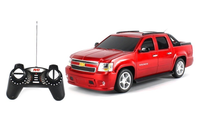 Licensed Chevy Avalanche Rc Truck Gk Series 1 16 Colors May Vary