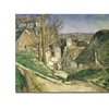 Paul Cezanne The House of the Hanged Man Canvas Print
