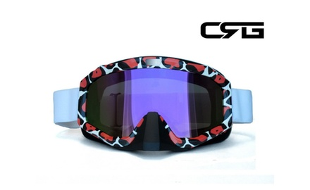 CRG Motocross ATV DIRT BIKE OFF ROAD RACING GOGGLES Adult T815-81-2A
