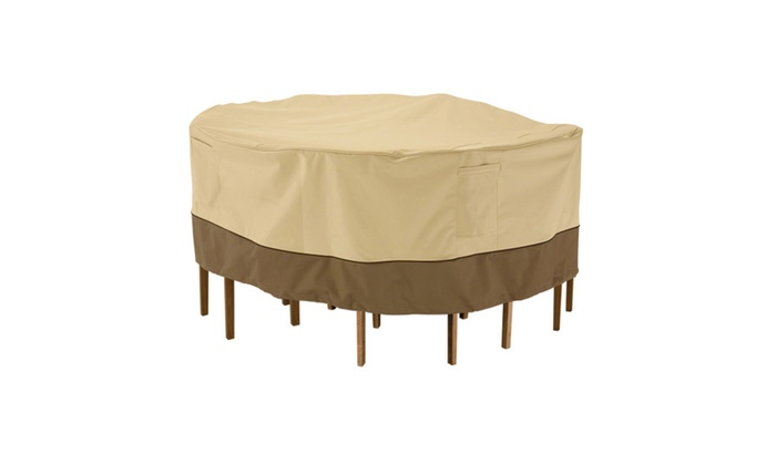 Classic Accessories Table and Chair Set Cover
