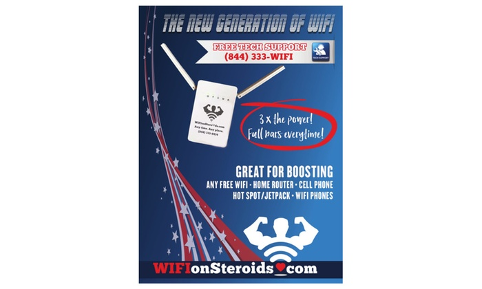 Wifi on Steroids wifi booster (Model WF 101) | Groupon
