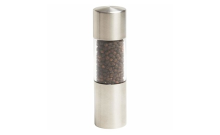 Stainless Steel Pepper or Salt Grinder