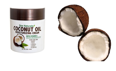 Beatuy Spa Naturals Coconut Oil Moisturizing Cream Skin Care