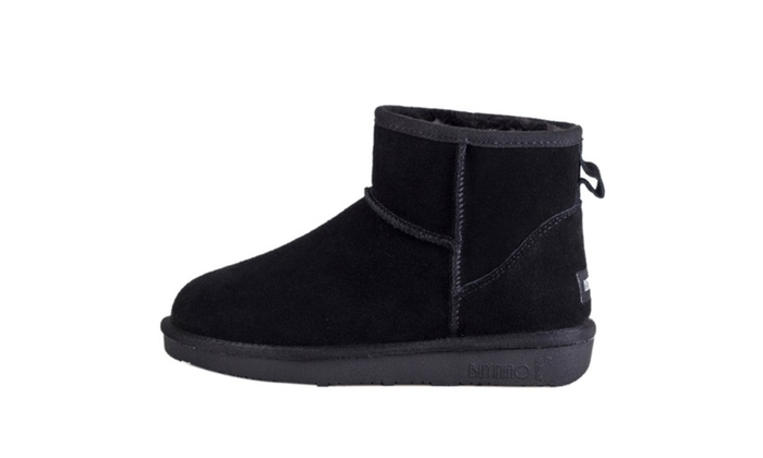 Men's Solid Warm Ankle Snow Boots