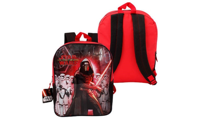 "Disney Star Wars Episode 7 Kylo Ren Backpack -15""H"