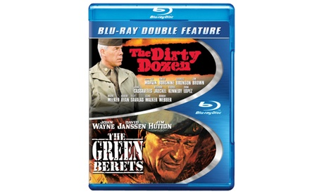 Dirty Dozen, The / Green Berets, The (BD) (DBFE) a23fe19e-aab2-4b1f-86b9-44bd5c6d9030
