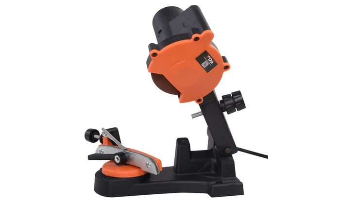 Electric Chain Saw Sharpener Grinder 4200RPM Wall Mount Tool