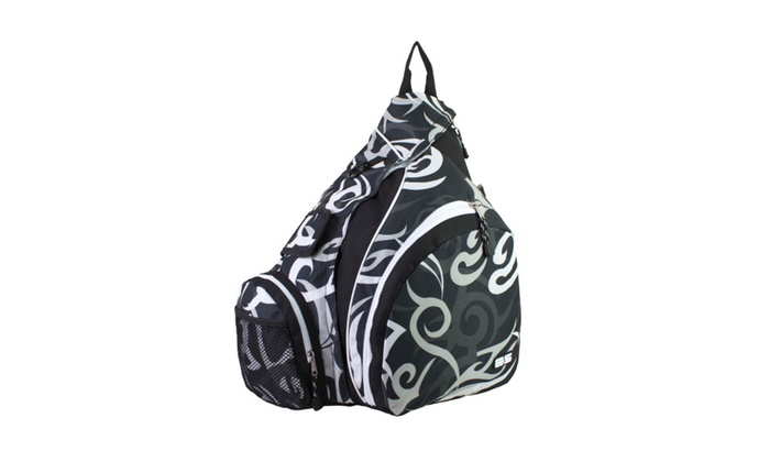 Eastsport Triple Zip Sling Backpack