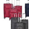 Gabbiano Bristol Collection 3-Piece Upright Softside Spinner Luggage Set