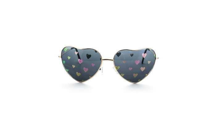 MLC Eyewear 'Love Fest' High Fashion Heart Shaped Sunglasses