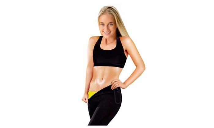 Women's Thermo Slimming Detox Pants with Pocket