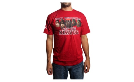 Fear the Beard, not the Beaver Youth Red T-shirt