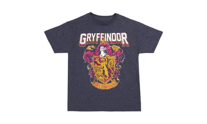 87acf029 Harry Potter Gryffindor Crest Youth T-Shirt | Groupon