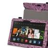 Insten Purple Flower Leather Case For Kindle Fire HDX 8.9 2013 2014