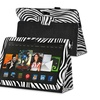 Insten Zebra Leather Case Stand For Kindle Fire HDX 8.9 2013 2014