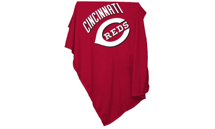 new style 2eb83 c9e59 Cincinnati Reds Sweatshirt Blanket