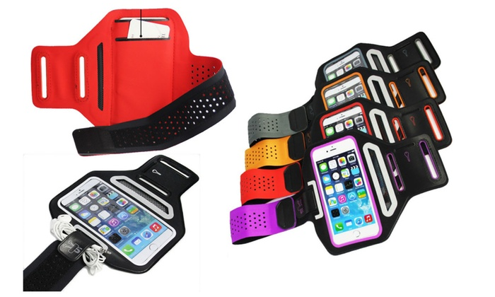 Sport Slim Breathable Armband for iPhone & Samsung Galaxy