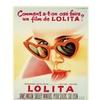 Movie Poster Lolita, film Release June 1962