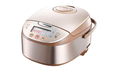 10 Cup Smart Multi-cooker Slow Rice Cooker Maker & Steamer 96a265a6-4a26-405c-a749-ca9bcb6c4392