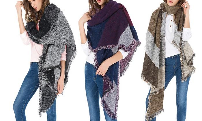e1e02fa81 New Arrival Women's Oversized Soft Blanket Scarf Scarves - 3 Color