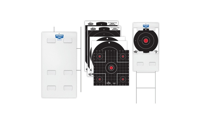 BC Sharpshooter Tab-Lock Dirty Bird Assorted Target Kit