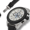 Brandt And Hoffman Priestley Chronograph Mens Watch Black/Silver