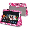Insten Pink Giraffe Leather Case For Kindle Fire HDX 8.9 2013 2014