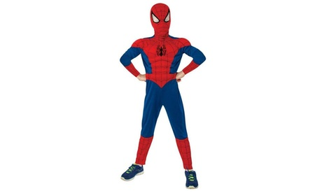Ultimate Spider-Man Muscle Chest Kids Costume d3713317-4e42-445d-b8fd-76967baab1ae
