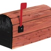 Mailbox Cedar Wrap