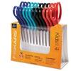 Fiskars Children's Safety Scissors, Blunt, 1-3/4 in. Cut, 12/Pack
