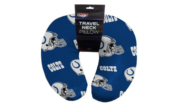 NFL 117 Colts Beaded Neck Pillow