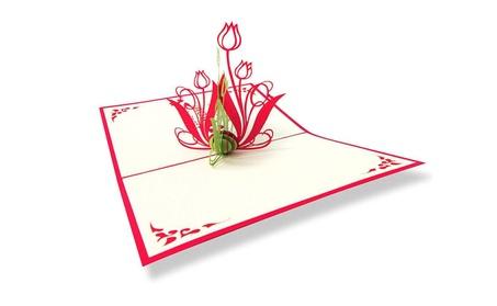 3 D Pop Up Flower Card I Love You Mom Tulips Surprise Birthday Mothers 611b1cbd-ef8a-4da2-8ca0-c37374d5c423