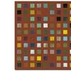 Michelle Calkins Skyscraper Abstract II Canvas Print 24 x 24