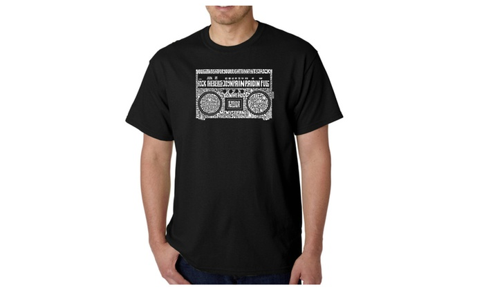 Men's T-shirt - Greatest Rap Hits of The 1980's