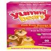 Hero Nutritionals Yummi Bears Omega 3 6 9 Natural Fruit - 90 Gummies
