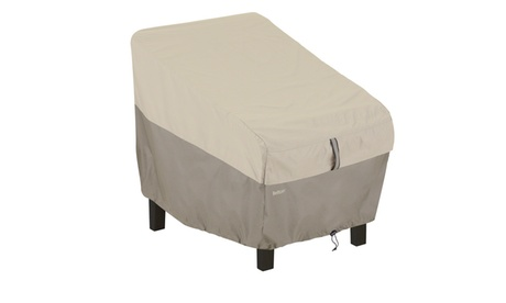Classic Accessories Belltown Standard Chair Cover, Grey 9aaa7470-af6c-4eec-8016-c5d0033d239e