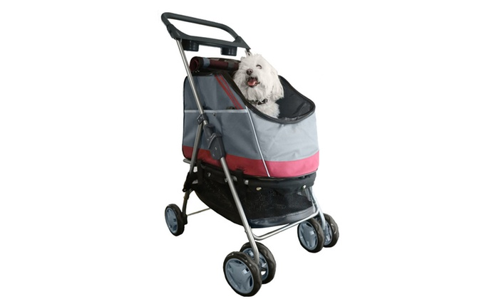 All-Surface' Convertible All-In-One Pet Stroller Carrier ...