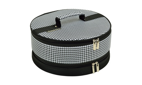 Houndstooth Pie/ Cake Carrier ece40739-96b5-45e8-a481-5439feb1118e