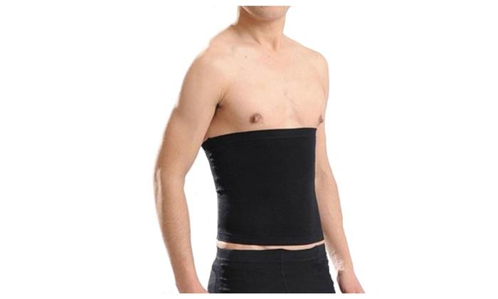 6d1ffb278d64d Men s Body Abdominal Waist Shaper Stomach Trimmer Belt Wrap Support ...