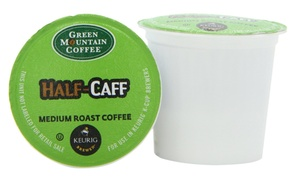 Green Mountain Coffee Half-Caff Medium Roast Keurig Brewed K-Cups,...