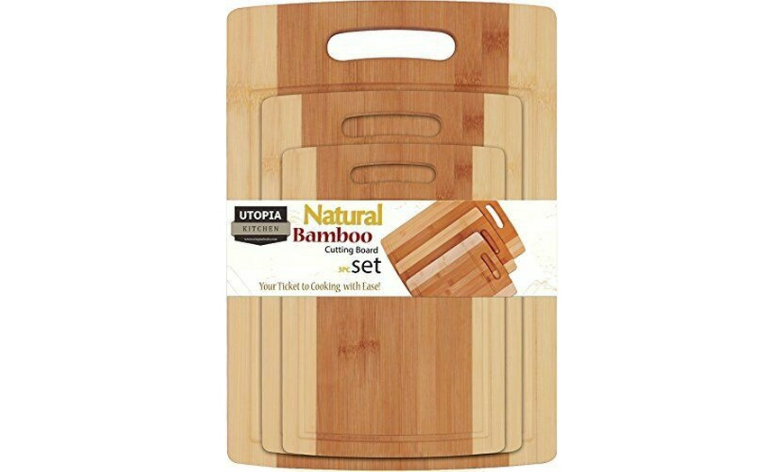 Up To 53 Off On Bamboo Cutting Boards For Kit Groupon Goods