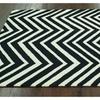 nuLOOM Contemporary Handmade Area Rug, 5' x 8', Black
