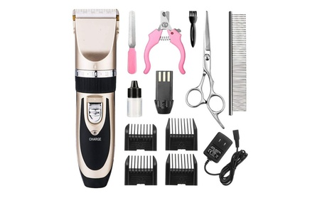 Dog Grooming Clippers Professional Pet Kit Rechargeable Pet Shaver 3df2bea9-1507-4eaf-944c-0ec54db68717