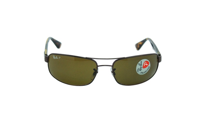 68ce5116ba coupon ray ban rb 3445 014 57 brown tortoise w polarized brown lens e2fe6  98722