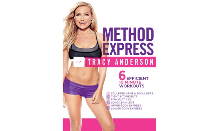 Tracy Anderson: Method Express DVD