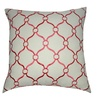 """Loom and Mill P0042-2020P 20"""" x 20"""" Pink Chainmail Decorative Pillow"""