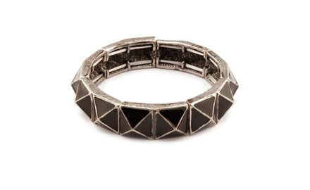 Bangle Collection Silver Burnish