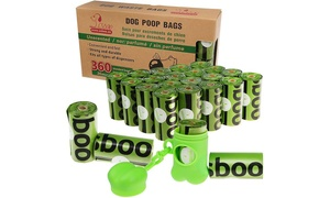 Heavy Duty Pet Waste Bags with Dispenser (360-Count)