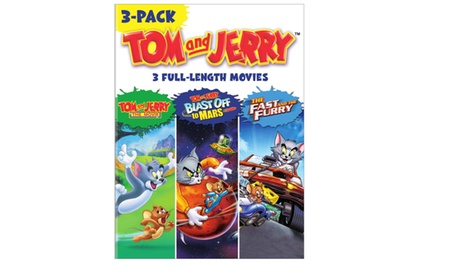 Tom and Jerry Movies 3-Pack (DVD) e4008814-1a76-4fd3-beaa-1b7b160bea22