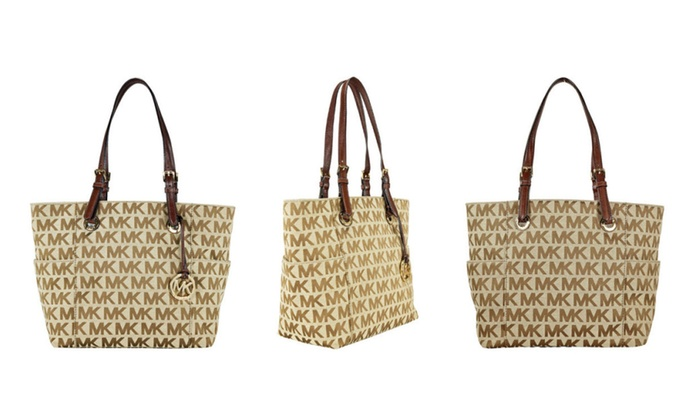 53e2e851b0bf Buy michael kors logo tote   OFF40% Discounted